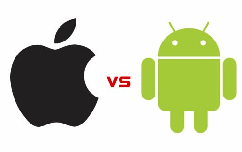 Android Vs iOS - Android vs iOS the battle of mobile OS [Infographics]