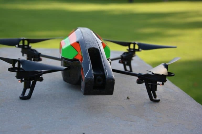DSC 0874 770x513 - Parrot AR Drone 2.0: I Can Fly.