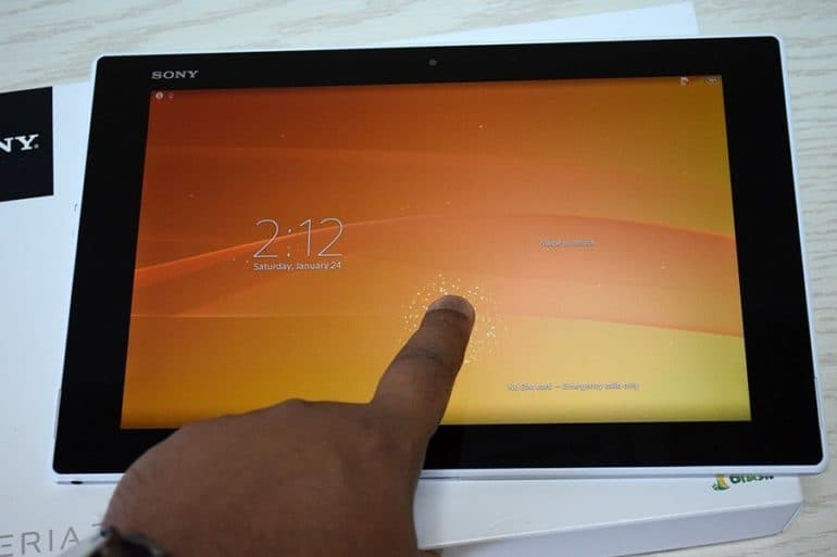 Xperia Z2 Tablet 9 770x513 - Sony Xperia Z2 Unboxing [Image Gallery]