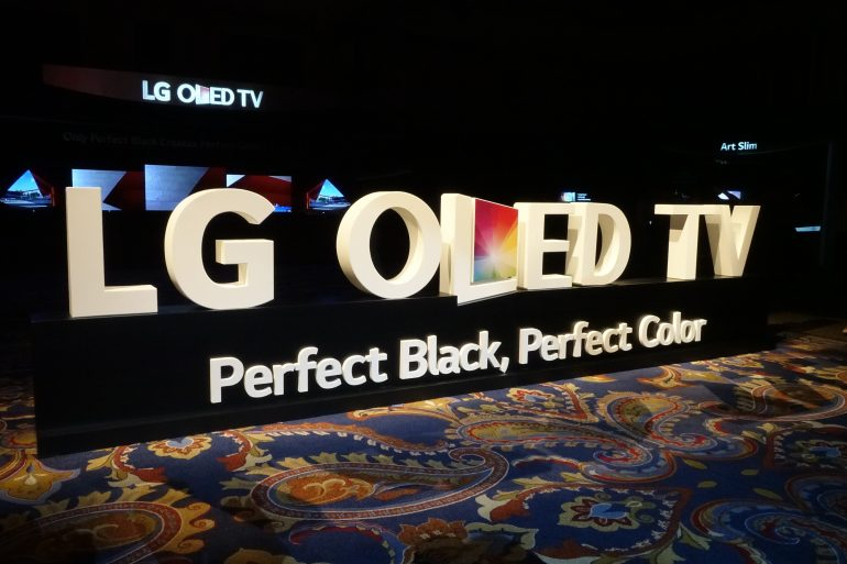 DSC00221 770x513 - LG AIMS TO ADD TO ITS SUCCESS IN THE PREMIUM TV MARKET WITH NEW 4K OLED TVS