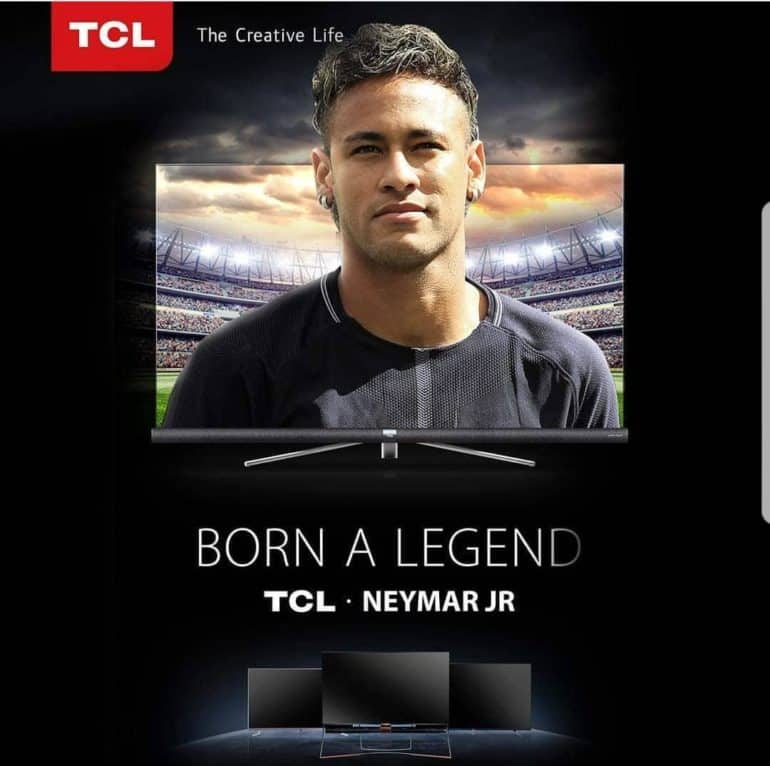 2018 02 11 770x766 - TCL APPOINTS BRAZILLION FOOTBALL STAR NEYMAR JR.  AS GLOBAL BRAND AMBASSADOR