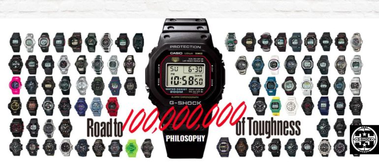 35th 770x341 - CASIO kicks off with G-SHOCK's  35th Anniversary MENA Tour in UAE.