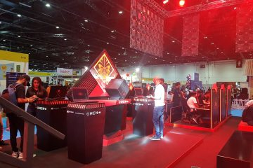 HP at Comic Con 3 360x240 - HP Hosts  Showcases OMEN gaming Lineup at MEFCC #ComicCon #MEFCC