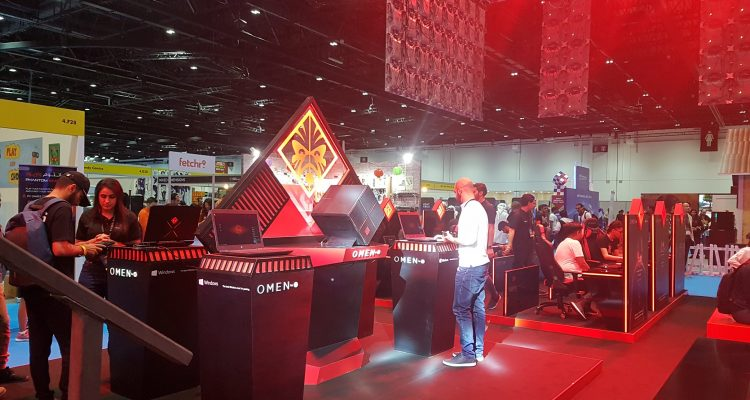 HP at Comic Con 3 750x400 - HP Hosts  Showcases OMEN gaming Lineup at MEFCC #ComicCon #MEFCC