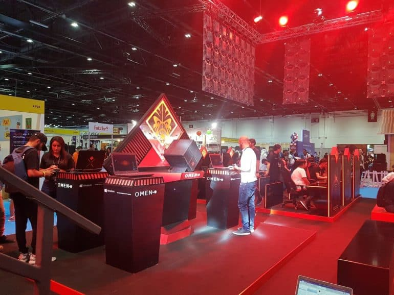 HP at Comic Con 3 770x578 - HP Hosts  Showcases OMEN gaming Lineup at MEFCC #ComicCon #MEFCC