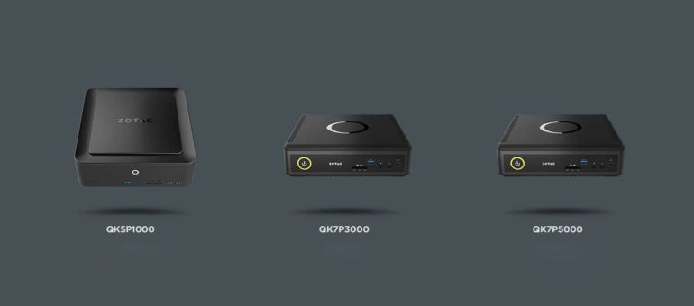 ZOTAC Q series 770x340 - Zotac Unveils Tiniest Workstation Mini PC Powered By Nvidia Quadro Graphics With Pascal Architecture.