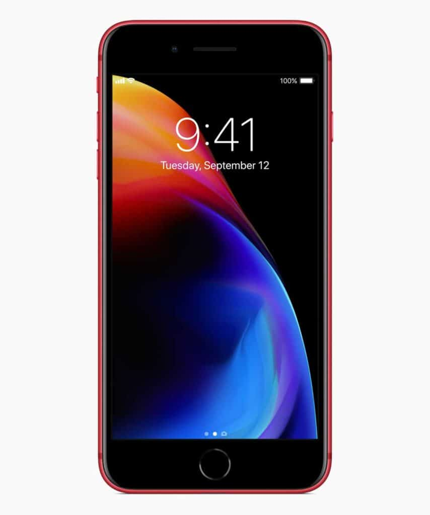 iPhone8PLUS PRODUCT RED front 041018 854x1024 - Apple Introduces iPhone 8 and iPhone 8 Plus RED Special Edition, No iPhone X RED Edition yet