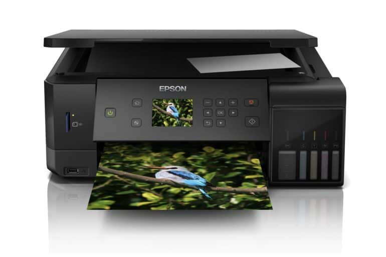 Epson L 7160 770x513 - Epson's new EcoTank photo printers bets on printing photos for less cost.