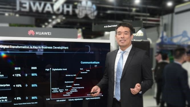 Huawei launches 5G Data Network, a next-gen carrier data storage solution, at GITEX