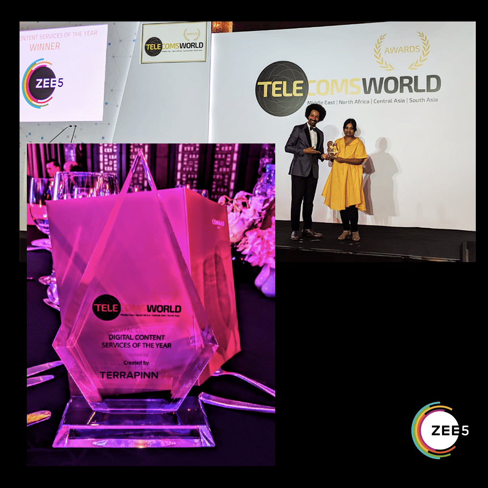 ZEE5 Global wins 'Digital Content Service of The Year'