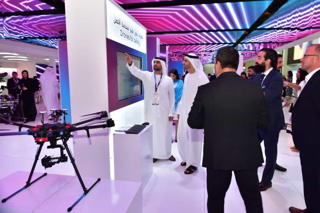du viser fremtiden for Enterprise Drone Solutions på GITEX Technology Week 2019