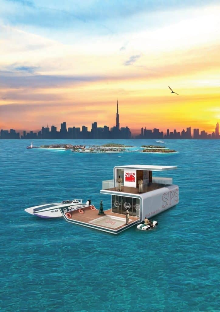 Floating Police Station unveiled at GITEX 2019