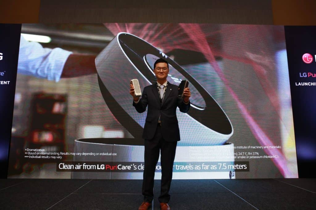 LG DEBUTS PURICARE MINI IN THE UAE