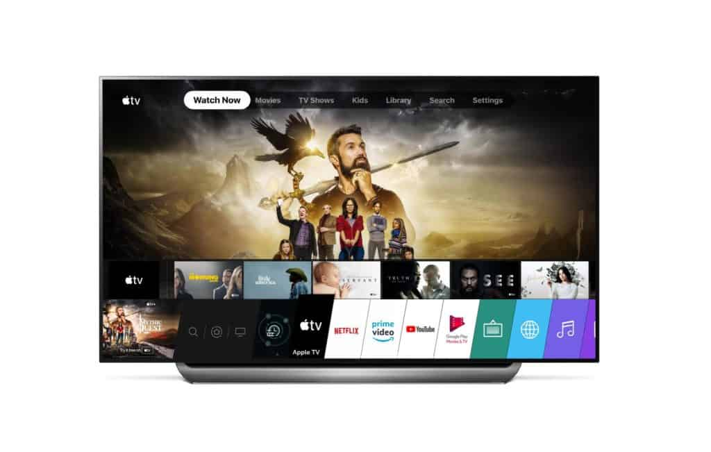 APPLE TV APP AND APPLE TV+ NOW AVAILABLE ON 2019 LG TVs
