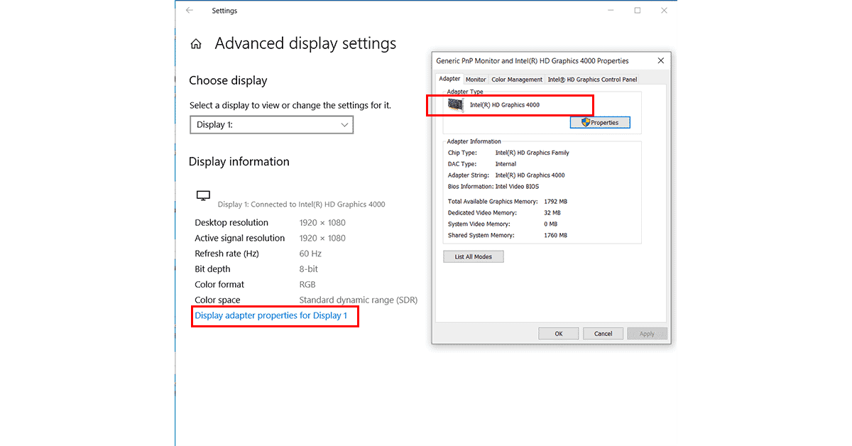 How to Check the Graphics Card Brand Model on your Windows 10 PC