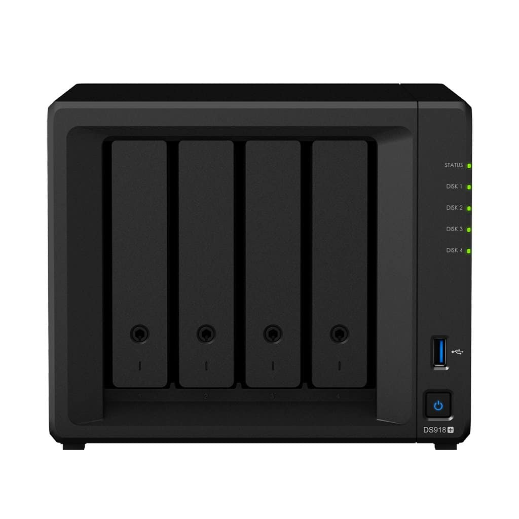Pregled Synology Diskstation 918+