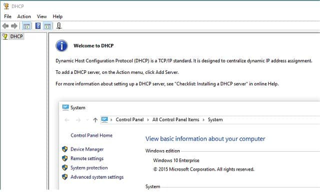 How to change DHCP lease time in Windows 10