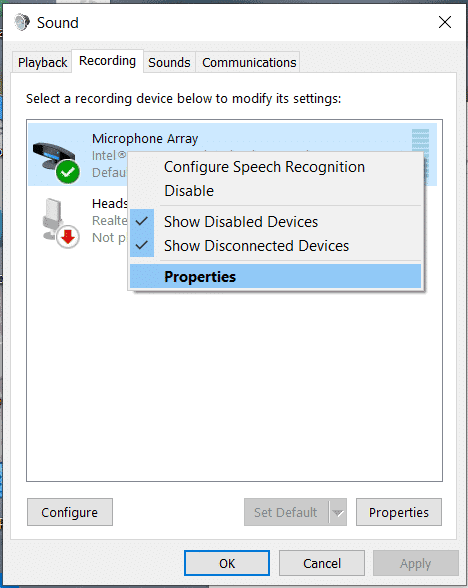 How to fix the Mic Sensitivity on Windows 10