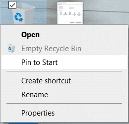 Where is the Recycle Bin on Windows 10