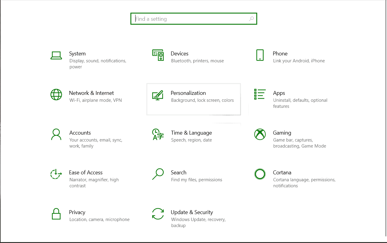 Blenden Sie die Taskleiste in Windows 10 aus