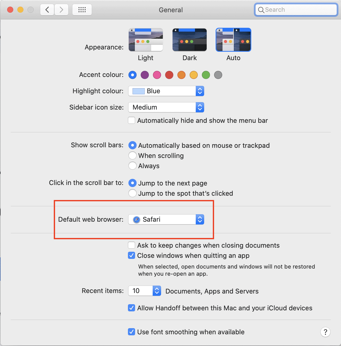 How to make Chrome the Default Browser on Mac